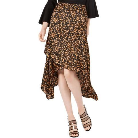 Bar Iii Womens Tiered Maxi Skirt