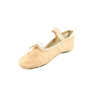 Capezio Teknik EW Round Toe Leather Ballet Flats
