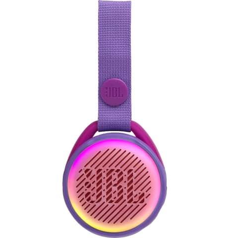 JBL JR POP Portable Bluetooth Speaker for Kids - Purple - 8 x 3 x 6