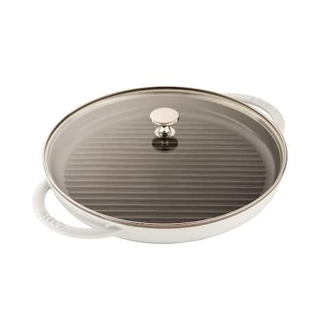 Staub Cast Iron 12-inch Round Steam Grill