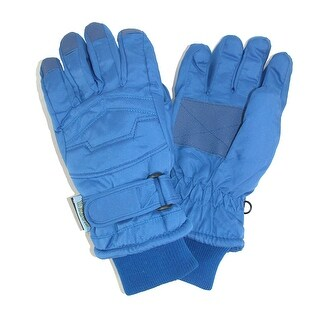 CTM® Kids' Thinsulate Lined Waterproof Winter Gloves