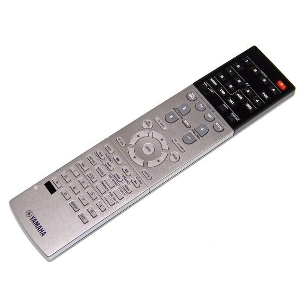 OEM Yamaha Remote Control Originally Shipped With: RXV779, RX-V779, TSR7790BL, TSR-7790BL