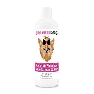 SparkleDog Premium Shampoo with Oatmeal & Aloe 16 oz
