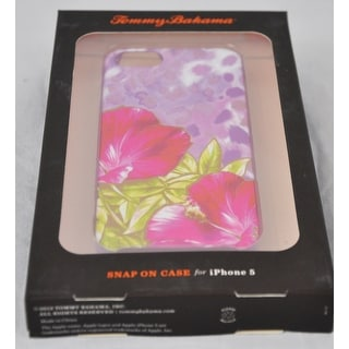 Tommy Bahama Animal Flower Snap on Phone Case for Iphone 5