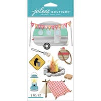 Jolee's Boutique Dimensional Stickers-Camping