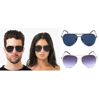 PRIVÉ REVAUX ''The Ace'' Handcrafted Designer Aviator Sunglasses For Men & Women