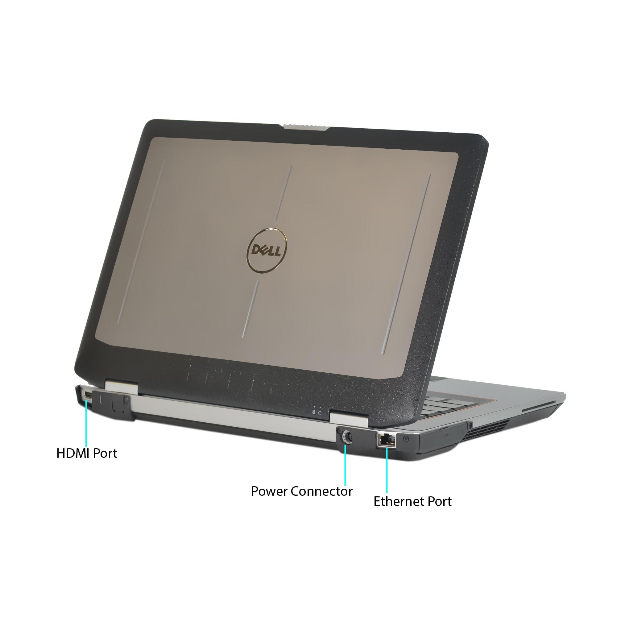 Dell Latitude E6430 ATG Intel Core i7-3520M 2 9GHz 3rd Gen CPU 6GB RAM  256GB SSD Windows 10 Pro 14-inch Laptop (Refurbished)