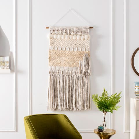 SAFAVIEH Sedona Hand Woven Wall Tapestry - 2' x 2'4'