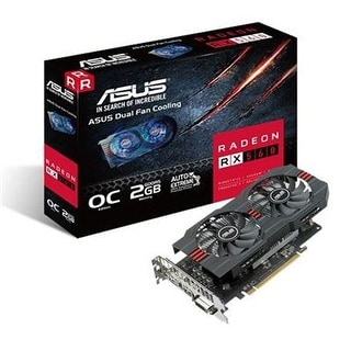 Asus Radeon Rx 560 2Gb Oc Edition Gddr5 Dp Hdmi Dvi Amd Graphics Card