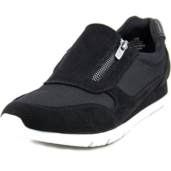Anne Klein Sport Wasyl Women Canvas Black Fashion Sneakers