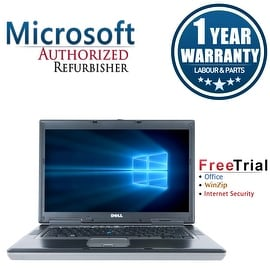 "Refurbished Dell Latitude D830 15.4"" Laptop Intel Core 2 Duo 2G 2G DDR2 80G DVD Win 7 Home Premium 64 1 Year Warranty"