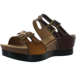 Spring Step Women's Magdy Buckle Style Slide Sandals