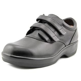 Apex Haylie Round Toe Leather Work Shoe