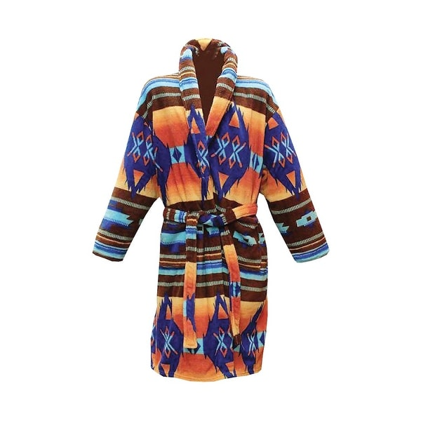 Shop Women s Los Alamos Robe - Native American Print Bath Robe - Free  Shipping On Orders Over  45 - Overstock - 18282666 2760026f2