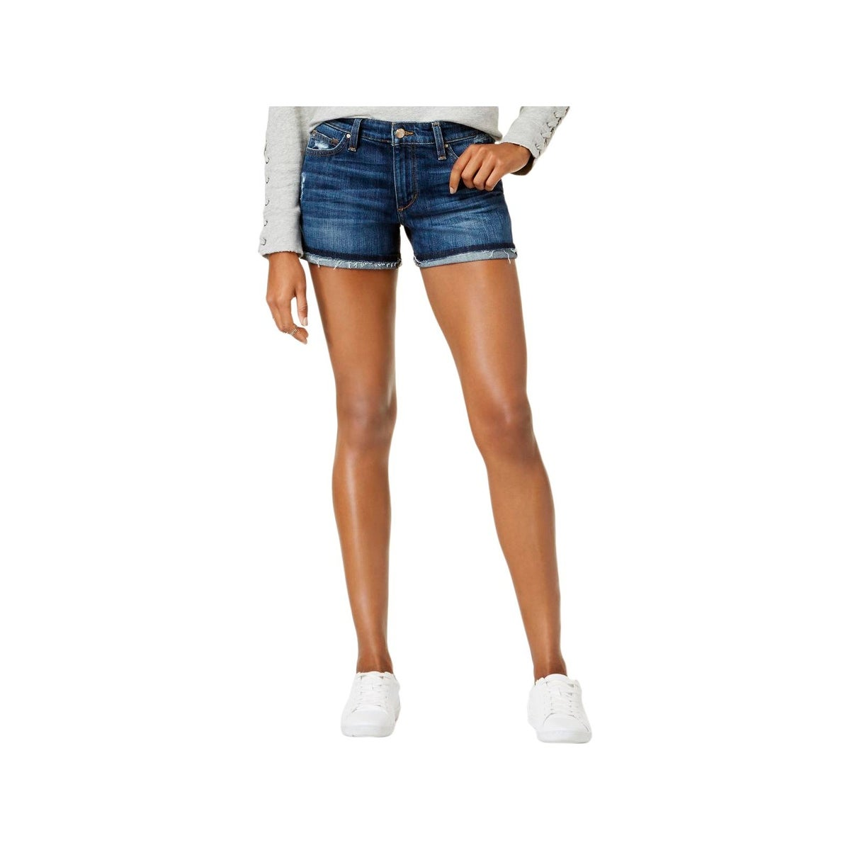 23e720d160 Shop Joe's Jeans Womens Markie Denim Shorts Cuffed Mid-Rise - Free Shipping  On Orders Over $45 - Overstock - 22358796