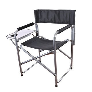 Stansport Folding Director's Chair w/ Side Table G-409