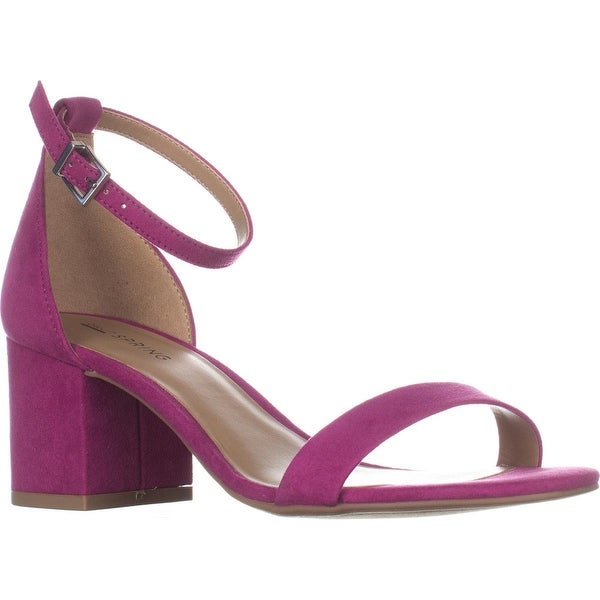 Call It Spring Stangarone Ankle Strap Sandals, Fushia