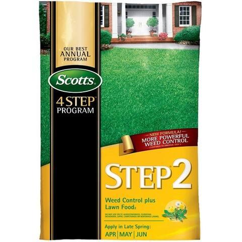 Scotts 23616 Lawn Pro Step 2 Weed Control Plus Fertilizer