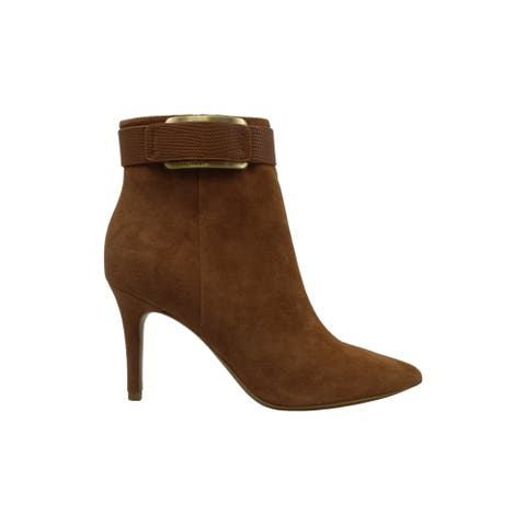 Calvin Klein Womens Georgene Pointed Toe Ankle Fashion Boots