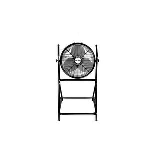 """Air King 9219  18"""" 3190 CFM 3-Speed Industrial Grade Floor Fan with Roll About Stand"""