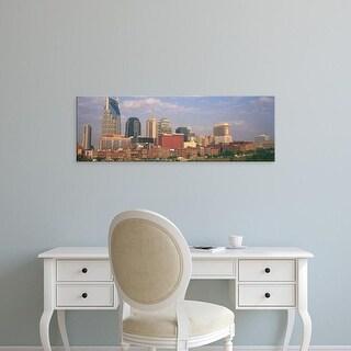 Easy Art Prints Panoramic Images's 'Skyline Nashville TN' Premium Canvas Art