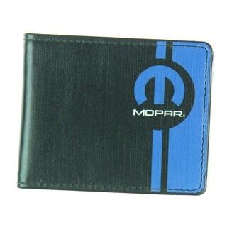 Mopar Black Leather Wallet