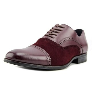 Stacy Adams Sedgwick Men  Round Toe Leather Red Oxford