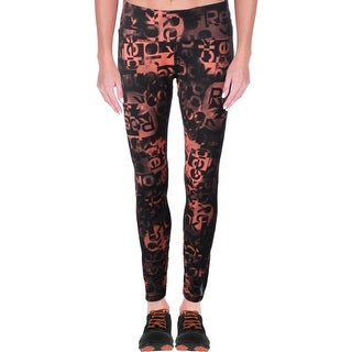 Reebok Womens Fluidity Athletic Leggings Yoga Fitness