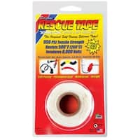 "Rescue Tape RT1000201203USC Self-Fusing Silicone Tape, 1"" x 12', White"