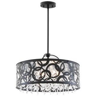 DVI Lighting DVP14706 Woodstock 6 Light Full Sized Pendant
