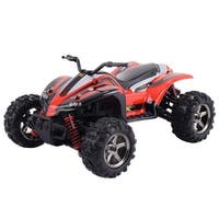 Costway High Speed RC ATV Buggy Off Road Car Radio Remote Control Red
