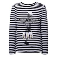 Richie House Boys' Long sleeve striped T-shirt