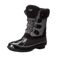 Khombu Womens Jilly Pac Boots Suede Winter