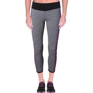 Kensie NEW Gray Women's Size Medium M Capris Cropped Leggings Pants