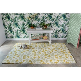 Link to Madcap Cottage by Momeni Under A Loggia Howards End Indoor/Outdoor Rug Similar Items in Farmhouse Rugs