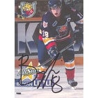 Bryan Little Barrie Colts OHL 2006 OHL Bell AllStar Classic Autographed Card This item comes with a certificate of