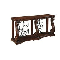 """""""Alymere Sofa Table Rustic Brown Alymere Sofa Table Rustic Brown"""""""