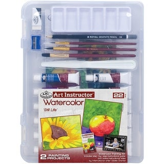 Art Instructor Watercolor Clearview Art Set Small - 22pc - small - 22pc