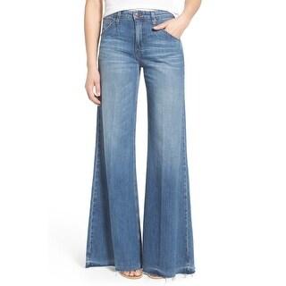 JOE'S NEW Blue Women's Size 26 Five Pocket Easy Wide Leg Jeans