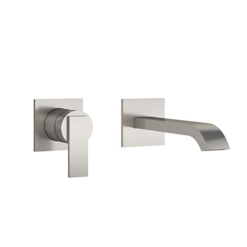 Jacuzzi PP078 Mincio 1.2 GPM Wall Mounted Bathroom Faucet