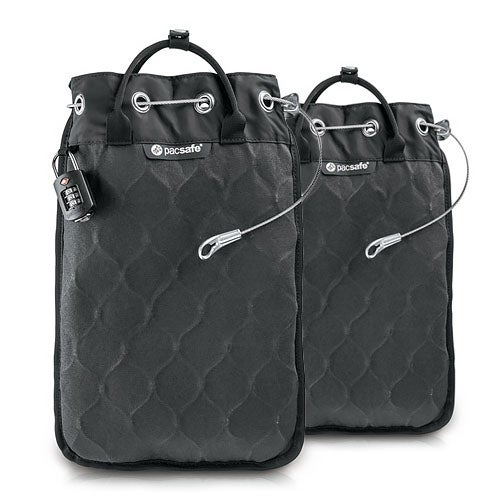 Pacsafe Travelsafe 12L GII Portable Safe w/ 15 MacBook Compatible Sleeve-2 Pack