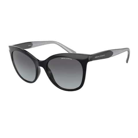 Armani Exchange AX4094S 81588G 54 Black Woman Cat Eye Sunglasses