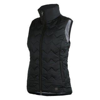 Noble Outfitters Vest Womens Calgary Pockets Zip Water Repellent