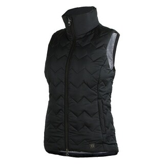 Noble Outfitters Vest Womens Calgary Pockets Zip Water Repellent 28009