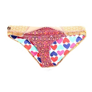 Maaji NEW Orange Women's Size Medium M Bikini Bottom Printed Swimwear