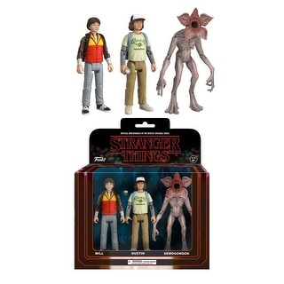 Stranger Things 3-Pack Collectible Action Figures, Pack 2