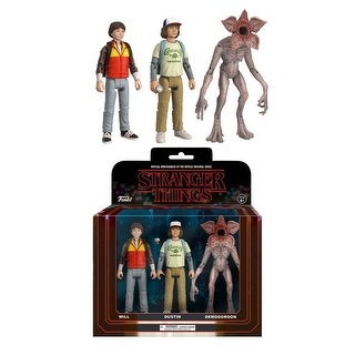 Stranger Things 3-Pack Collectible Action Figures, Pack 2 - multi