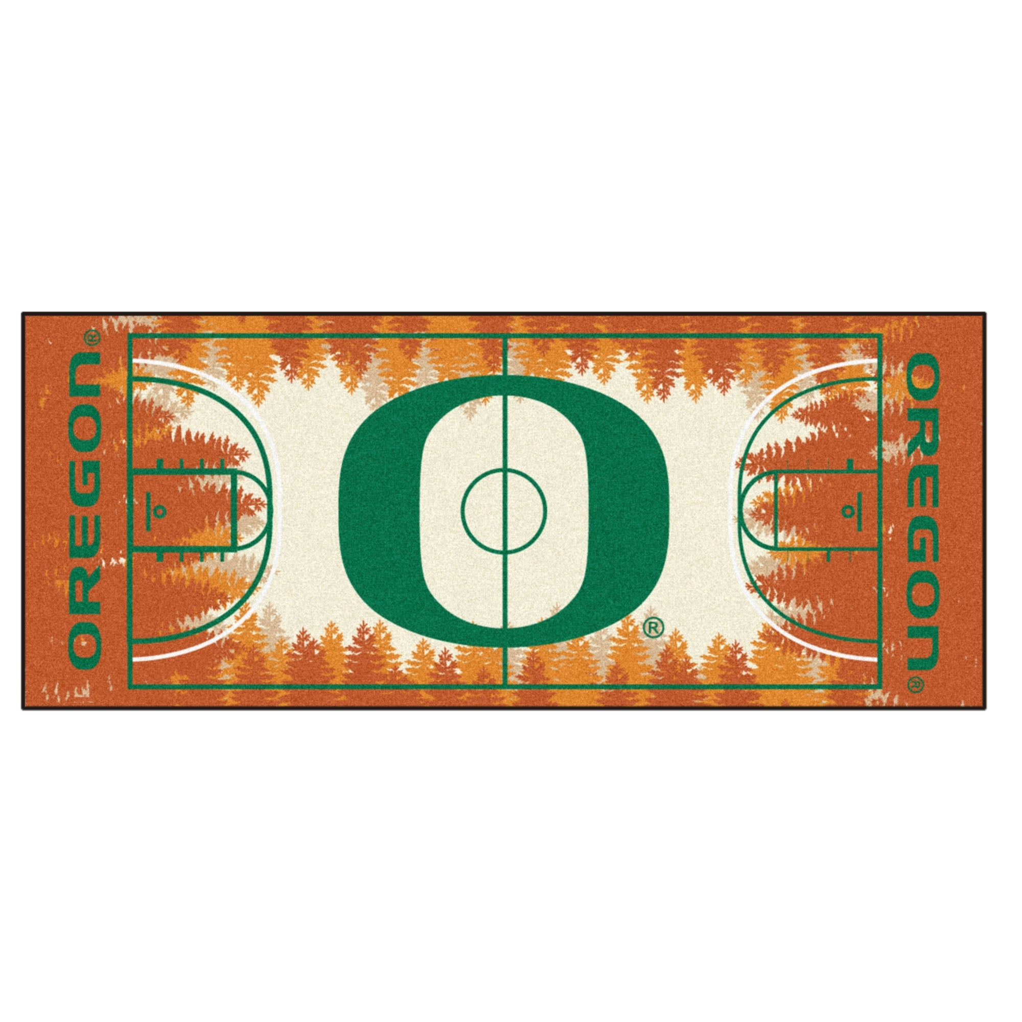 first rate 45f61 4fe7e Shop NCAA University of Oregon Ducks NCAA Basketball Non-Skid Mat Area Rug  Runner - N A - Free Shipping Today - Overstock - 22631034