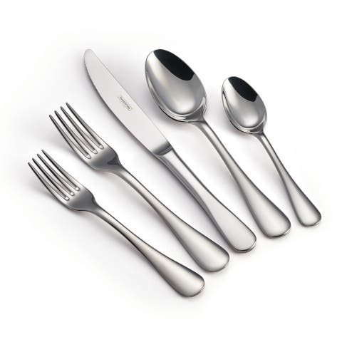 Tramontina Classic 45 Pc 18/10 Stainless Steel Flatware Set