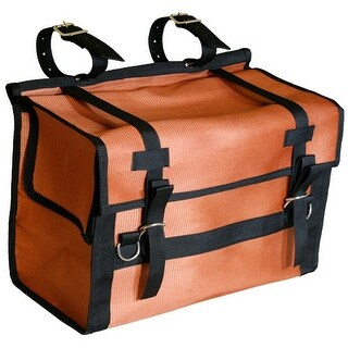 """Outfitters Supply Panniers Cloth 24"""" x 18"""" x 11 1/2"""" Orange"""